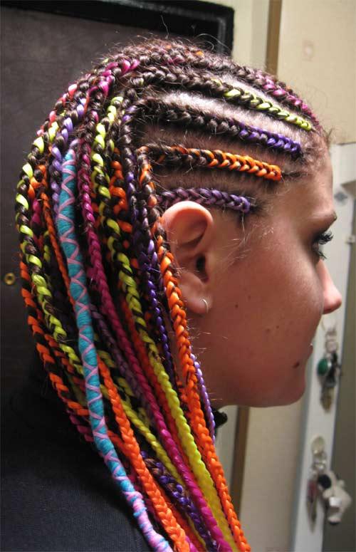 Вплетение ниток в волосы как называется